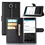 Supremery Case Blackberry Priv Schutzhülle Tasche BLACK Case für Blackberry Priv Flip Cover