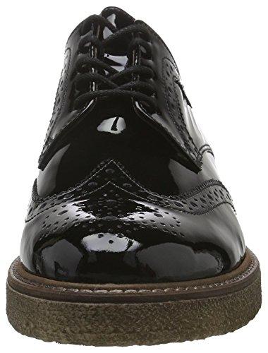 Gabor Shoes 51.451 Damen Brogue Schnürhalbschuhe Schwarz (Schwarz 97)