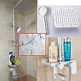 Miscelatore per doccia in alluminio caldo e freddo rubinetto miscelatore bagno a parete con doccia di sollevamento, C