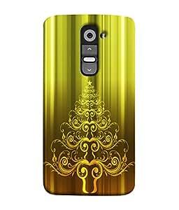 PrintVisa Designer Back Case Cover for LG G2 :: LG G2 Dual D800 D802 D801 D802TA D803 VS980 LS980 (wonderful design impressive black golden green shiny)
