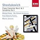 Shostakovich : Concerto for Piano, Trumpet, Strings/Piano Concerto No.2/Symphony No.1
