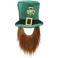 Boland Cappello Tuba Trifoglio Irish Leprechaun St. Patrick con Barba per  Adulti 731fd924a397