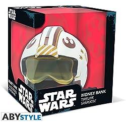 Hucha de casco X-Wing. Luke Skywalker, Star Wars