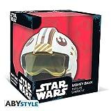 Hucha casco X-Wing. Luke Skywalker. Star Wars