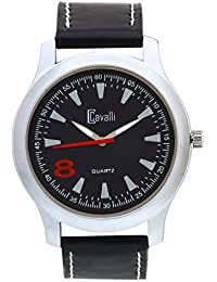 Cavalli Black Dial Elegant Analog Watch- For Men, Boys