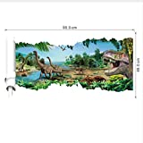Xqi wangpu Cartoon Movie Dinosaur Wall Sticker Super Hero Stickers murali per Bambini Camere Child Wallpaper Boy's Room Art Decor Decalcomanie 90X46cm