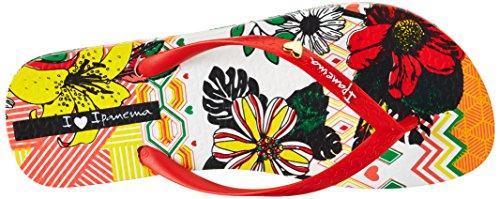 Ipanema - Ipanema I Love Tribal Fem, Infradito Donna Mehrfarbig (white/red)