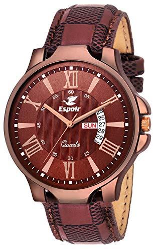Espoir Analog Brown Dial Men\'s Watch-LS5098-2