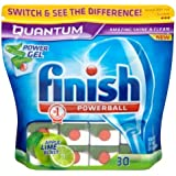 Finish Quantum Tablettes Apple et citron vert Blast 2 x 30 par paquet