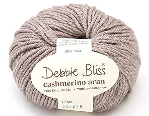 Debbie Bliss Cashmerino * * Aran * * Hand Strickgarn, 50g 078taupe