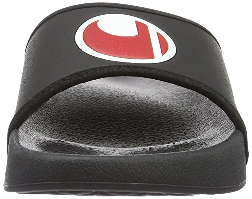 Uhlsport-Scarpe da bagno nero - Black - Schwarz/Weiß/Rot