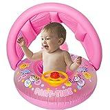 PMFS Baby Sonnenschirm Verdickung Schwimmboot Cartoon Kinder Aufblasbare Schwimmring Lenkrad Baby...