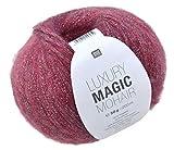 Rico Luxury Magic Mohair F. 05 - rosa Wolle mit Lurexfaden / Glitzer zum Stricken und Häkeln