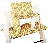 Sitzkissen beschichtet für Stokke Tripp Trapp - Gelb retro