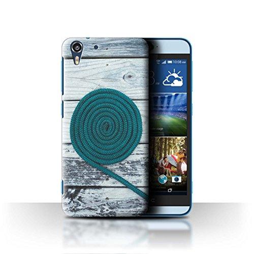 Stuff4® Hülle/Case für HTC Desire Eye LTE/Seil/Holz/Deck Muster/Teal Mode Kollektion - Eye Deck