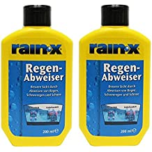 Rain X - Repelente de lluvia para cristales de coche (200 ml, 2 unidades
