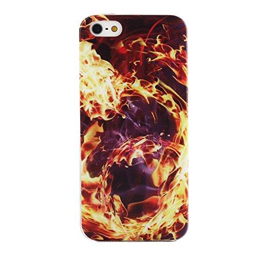 MOONCASE pour iPhone 5G / 5S Case Housse Silicone Gel TPU Case Coque Étui Cover X02 X03 #1207
