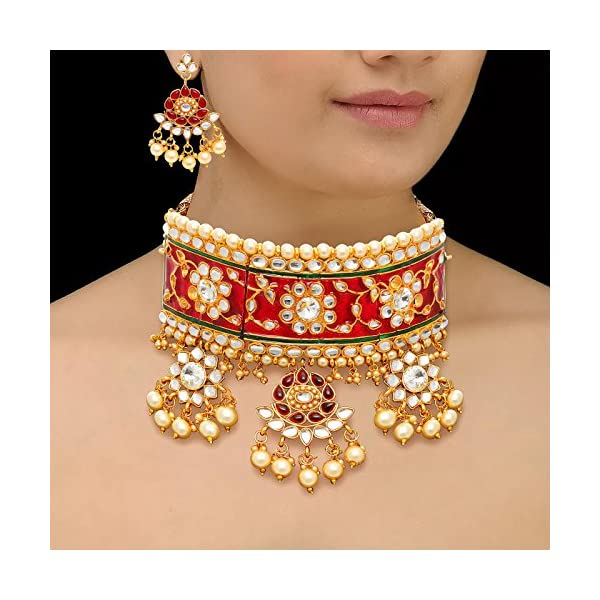 6fd0c5d4ac268 Sukkhi Gold Plated Jewellery Set for Women (N72836GLDPJ042018)