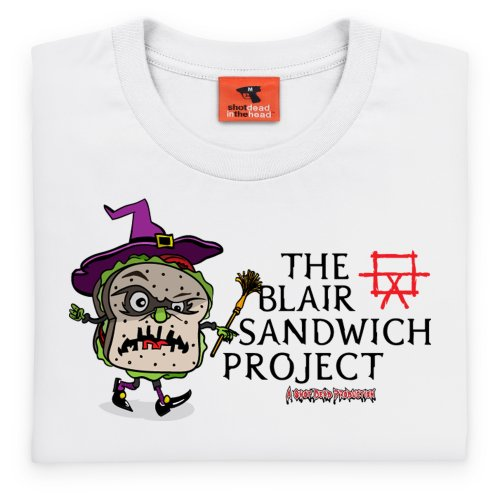 The Blair Sandwich Project T-Shirt, Herren Wei