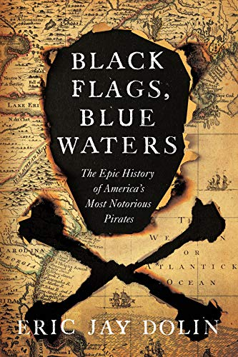 Black Flags, Blue Waters: The Epic History of America's Most Notorious Pirates - Crown Flag