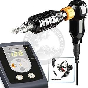 Cheyenne hawk thunder rotary tattoo machine complete kit for Amazon tattoo machine