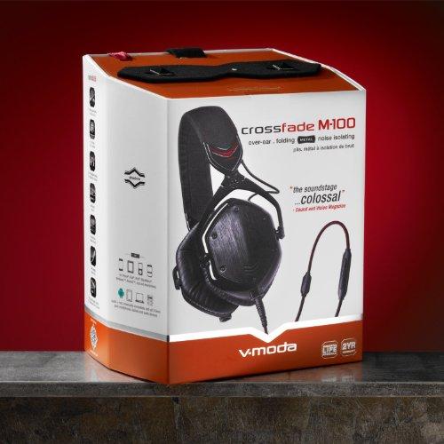 V-MODA Crossfade M-100 Over-Ear Kopfhörer Shadow - 6