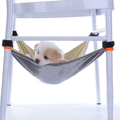 MING Pet Katze Hängematte Bett Praktische Klettverschluss leicht Baumwolle Biber in den Käfig, unter dem Tisch und Hocker