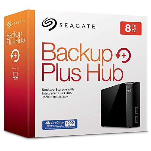 51pRqga93HL - [Amazon.de] Seagate Backup Plus Hub 8TB für nur 179.00€
