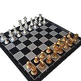 Schachspiel Kunststoff Magnetisch Pädagogisches mit Schachbrett für 6 Year Kinder