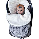 Baby Puckdecke Kinderwagendecke Fleecedecke Schlafsack Plus Samt