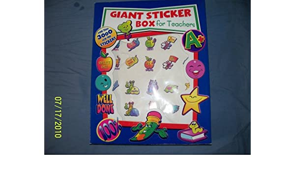 Giant sticker box for teachers amazon co uk office products