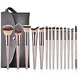 Makeup Brushes BESTOPE 14 Pcs Premium Synthetic Make up Brushes Champagne Gold Brushes