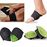 #7: PERFECT SHOPO 1Pair Strutz Cushioned Arch Foot Support Decrease Plantar Fasciitis Pain New Hot Foot Care Tools Foam