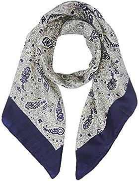 Veraluna Atlantico, Pañuelo para Mujer, Azul (Atlántico), One Size (Tamaño del Fabricante:U)