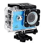 VNEIRW Action Cam 4K Wasserdicht Sports Cam Wifi Crosstour Action Kamera Camcorder Unterwasserkamera Unterwasser Kamera Helmkamera Mit SD-Karte Full HD 1080P 2