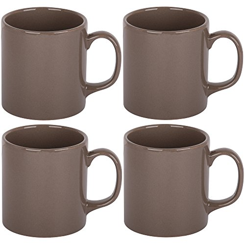 promobo-set-lot-4-mug-tasse-platine-design-uni-gris-taupe-10cm-300ml