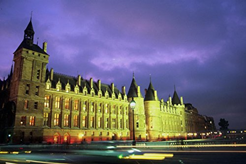 804037 The _Conciergerie_ By Night Paris France A4 Photo Poster Print 10x8