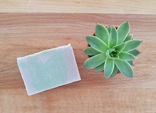 Jabón de Lavanda, Karité y Arcilla Rosa