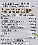 Dr. Goerg, Copos de Coco ecológicos - Pack de 3 unidades de 300 gr