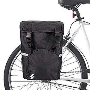 Hebey Trunk Bag Bicicleta Alforjas Pack Ciclismo Equipaje Accesorios Impermeable Asiento Trasero Pannier Bag