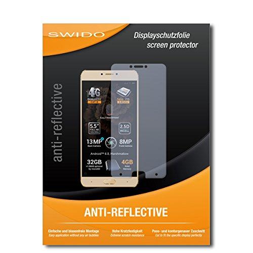 SWIDO Schutzfolie für Allview X3 Soul Plus [2 Stück] Anti-Reflex MATT Entspiegelnd, Hoher Härtegrad, Schutz vor Kratzer/Bildschirmschutz, Bildschirmschutzfolie, Panzerglas-Folie