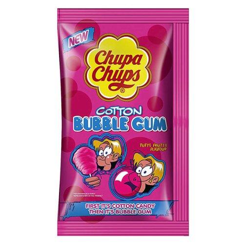 Chupa Chups Bubble Gum 1er, 11g Cotton Bubble