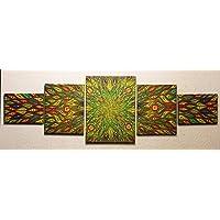 Pittura moderna : diffusione colorata (40 x 130 cm)