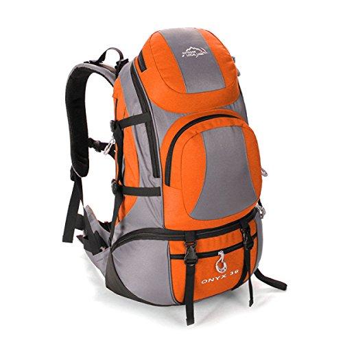 Outdoor Reise Rucksack Mode Bergsteigen Tasche Für Männer Frauen Orange
