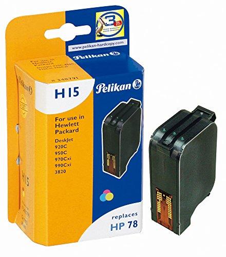Pelikan Druckerpatrone H15 ersetzt HP C6578D, 3-color