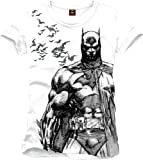 Batman T-Shirt Bats white Size L CODI
