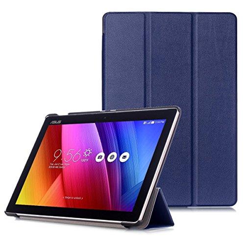 """cover tablet asus 10 pollici ASUS ZenPad 10 Cover - Custodia Ultra Sottile con Coperture da Supporto e Funzione Auto Sveglia / Sonno per ASUS ZenPad 10 Z301M / Z301ML / Z301MF / Z301MFL / Z300M / Z300C 10.1"""" Tablet"""