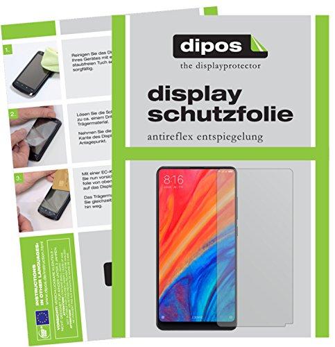 dipos I 6X Schutzfolie matt passend für Xiaomi Mi Mix 2S Folie Bildschirmschutzfolie