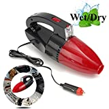 12V Handheld Wet/Dry Vacuum Cleaner Car Vacuum Cleaner With Work light & On/Off Switch