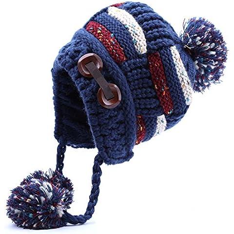 Thenice Cappello Berretto in maglia Donna Invernale Bearnie Cap